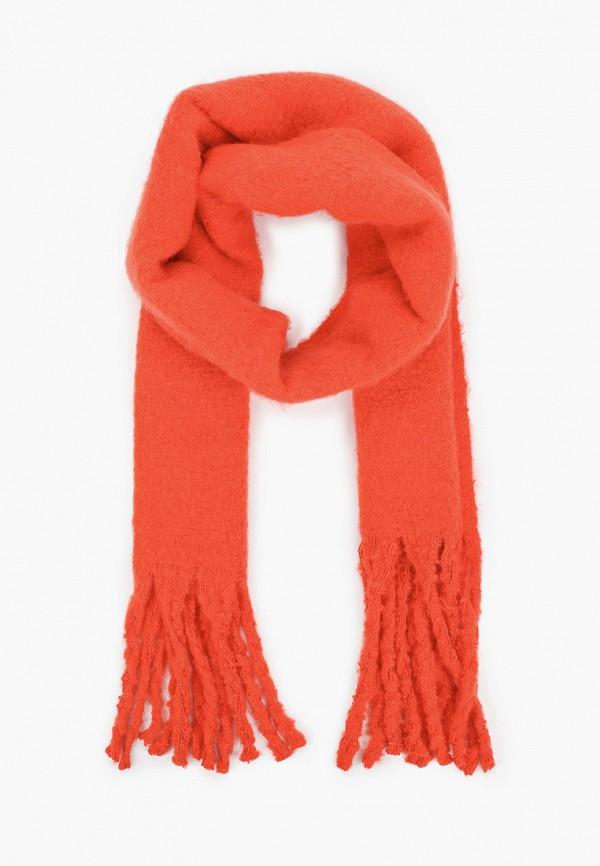 женский шарф befree, красный