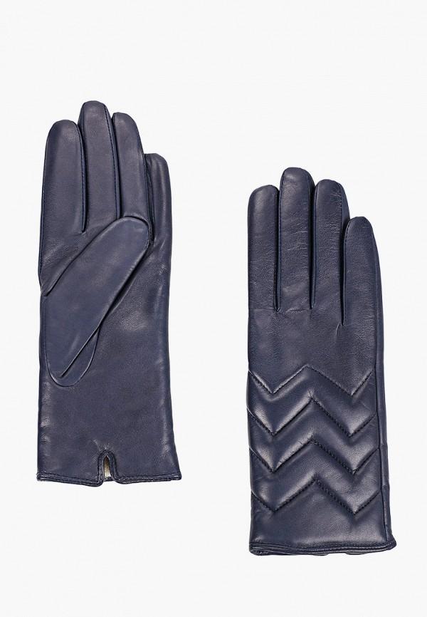 женские кожаные перчатки vitacci, синие