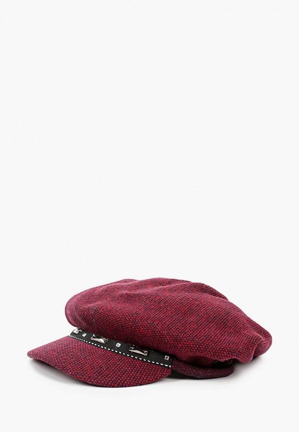 женская кепка vntg vintage+, бордовая