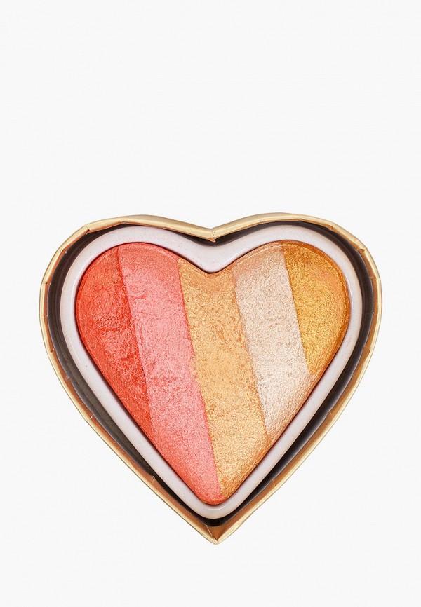 женский хайлайтер i heart revolution, разноцветный