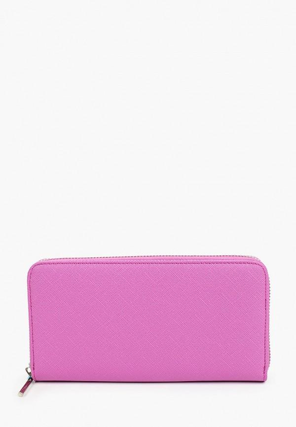 женский кошелёк russian look, розовый