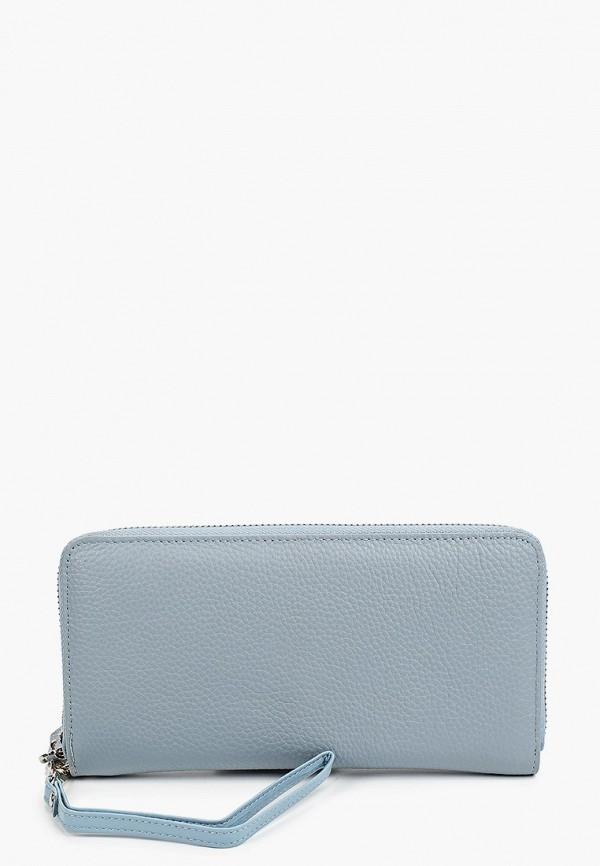 женский кошелёк russian look, голубой
