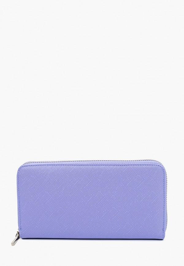 женский кошелёк russian look, фиолетовый