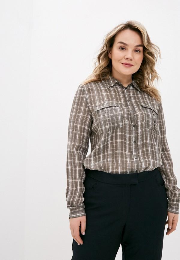 женская блузка с длинным рукавом sack's, хаки