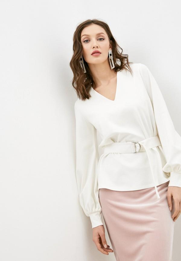 женская блузка с длинным рукавом alina assi, белая