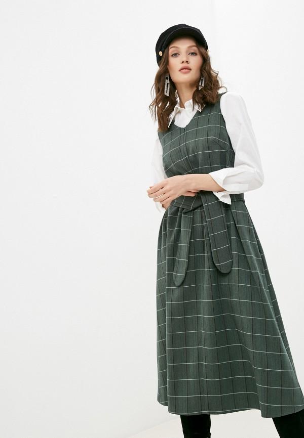 женское повседневные платье alina assi, зеленое