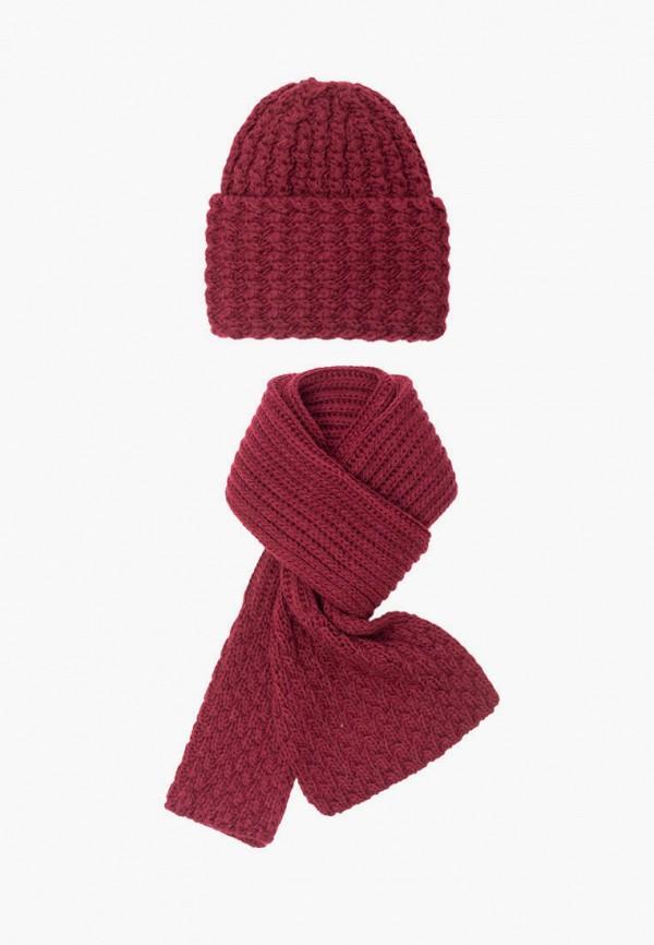 женский шарф fomas, бордовый