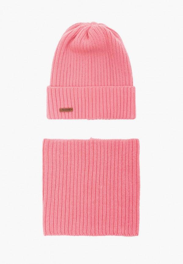женский снуд fomas, розовый
