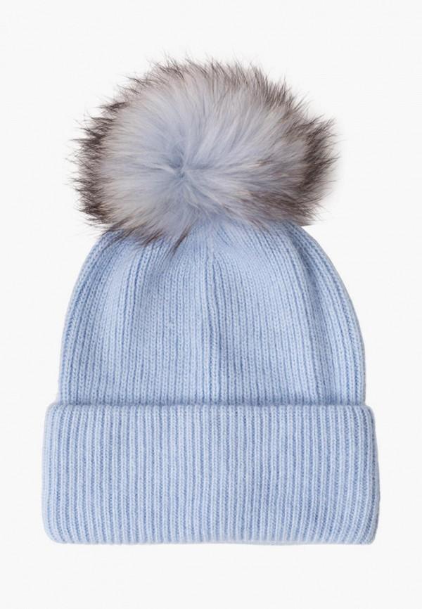 женская шапка fomas, голубая