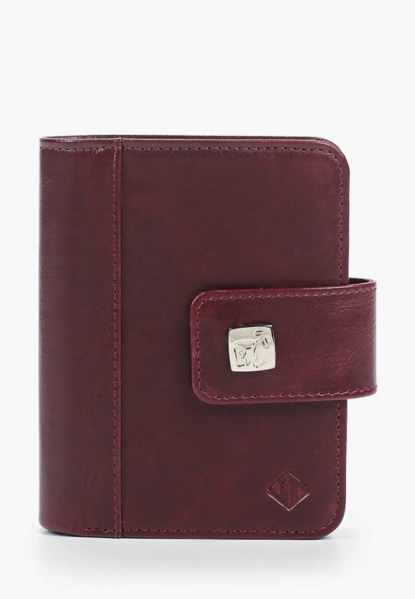женский кошелёк flioraj, бордовый