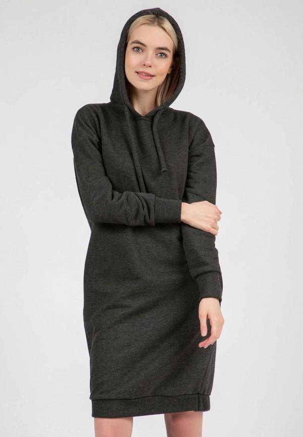 женское платье-толстовки olivegrey, хаки