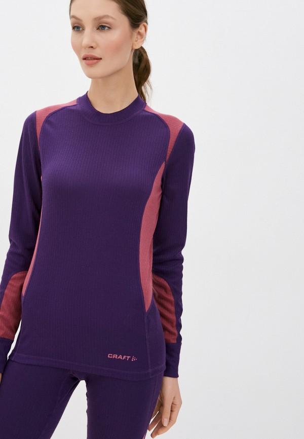 женское термобелье craft, фиолетовое