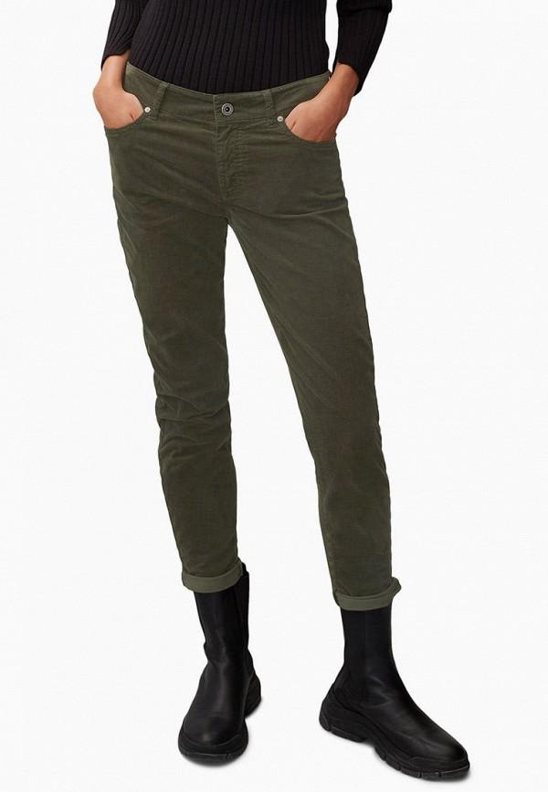 женские повседневные брюки marc o'polo, хаки