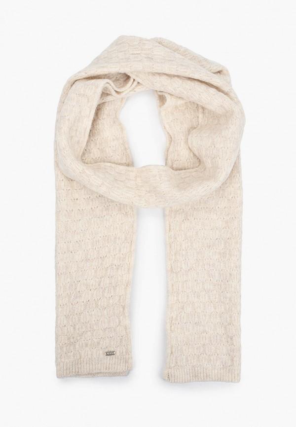 женский шарф u.s. polo assn, бежевый
