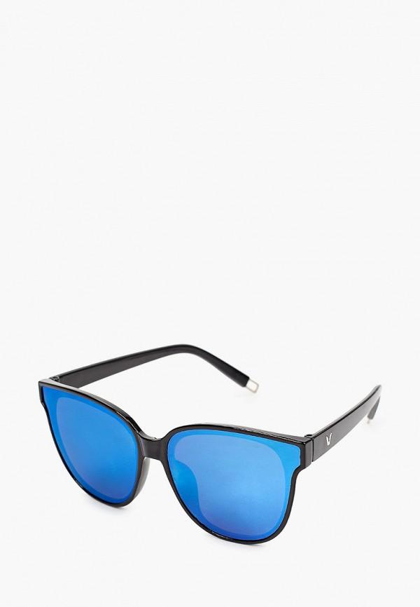 женские солнцезащитные очки кошачьи глаза красная жара, разноцветные