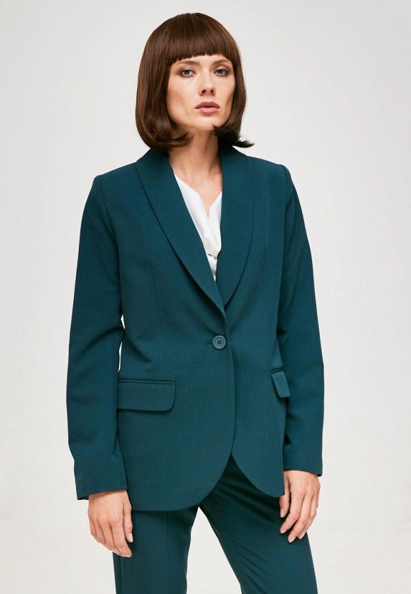 женский пиджак yulia'sway, бирюзовый