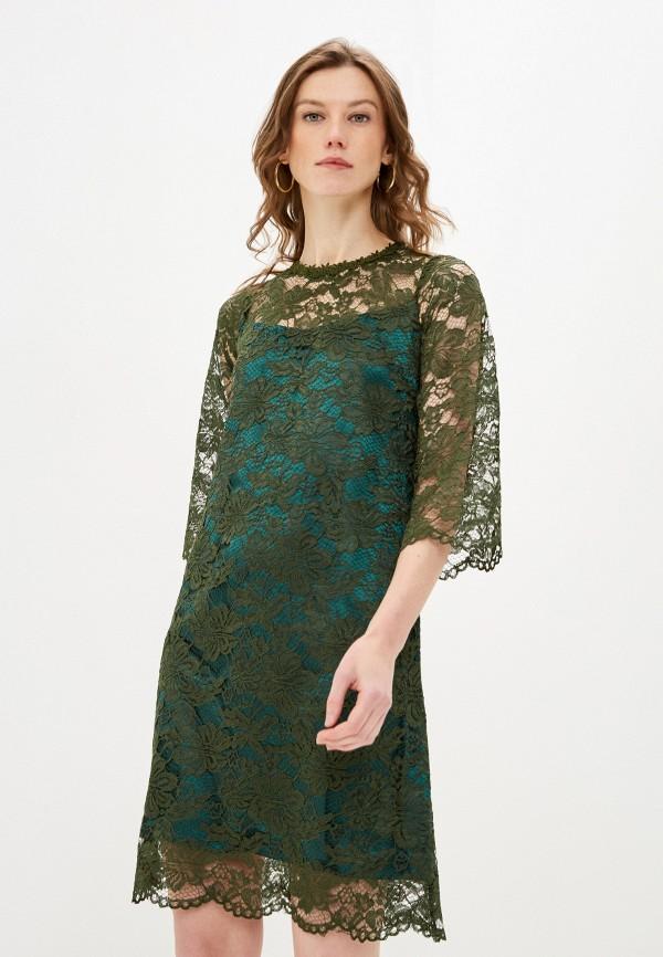 женское вечерние платье мадам т, хаки