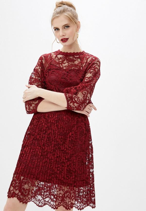 женское вечерние платье мадам т, красное