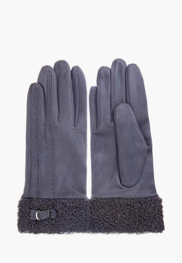 женские текстильные перчатки mellizos, серые