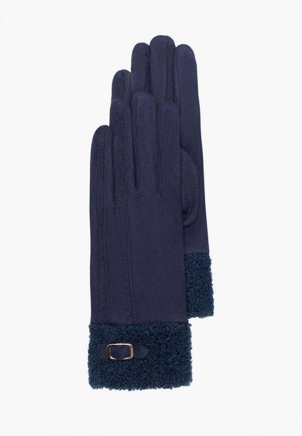 женские текстильные перчатки mellizos, синие