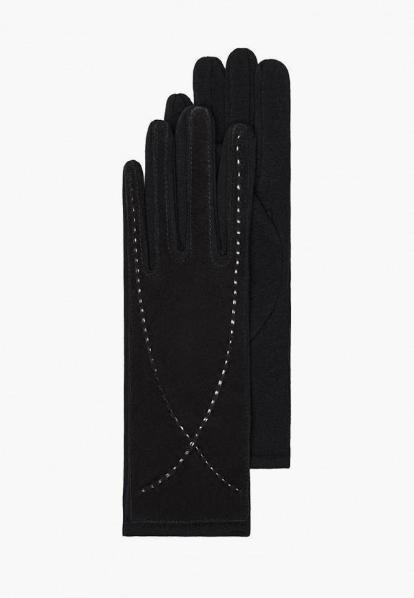 женские кожаные перчатки mellizos, черные