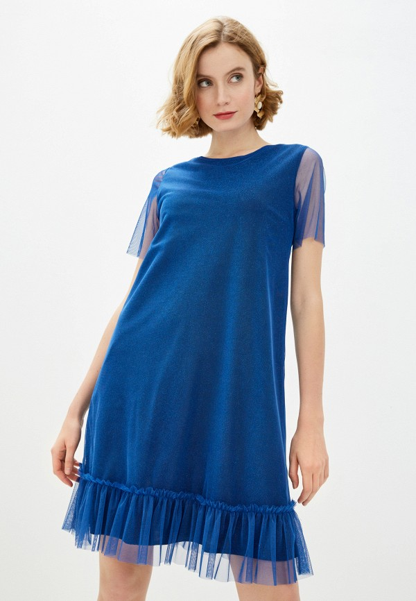Платье AM One AM One  синий фото