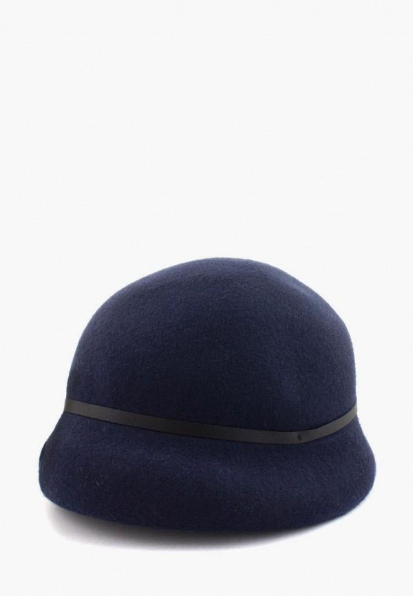 женская шляпа anna bask, синяя