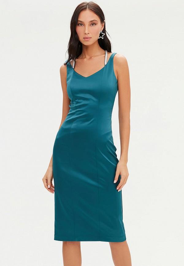 женское вечерние платье love republic, бирюзовое