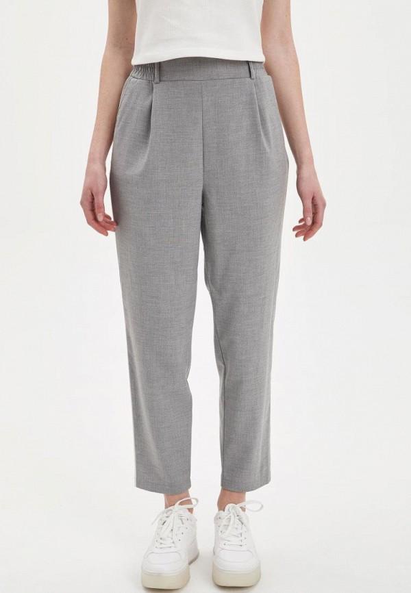 женские повседневные брюки defacto, серые