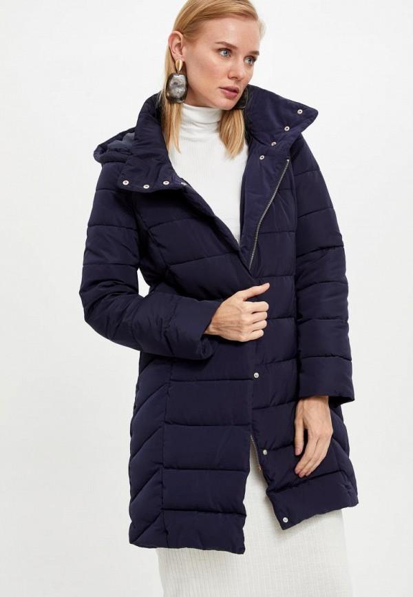 женская куртка defacto, синяя