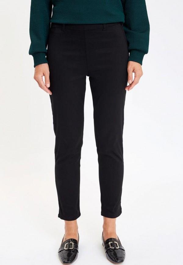 женские повседневные брюки defacto, черные