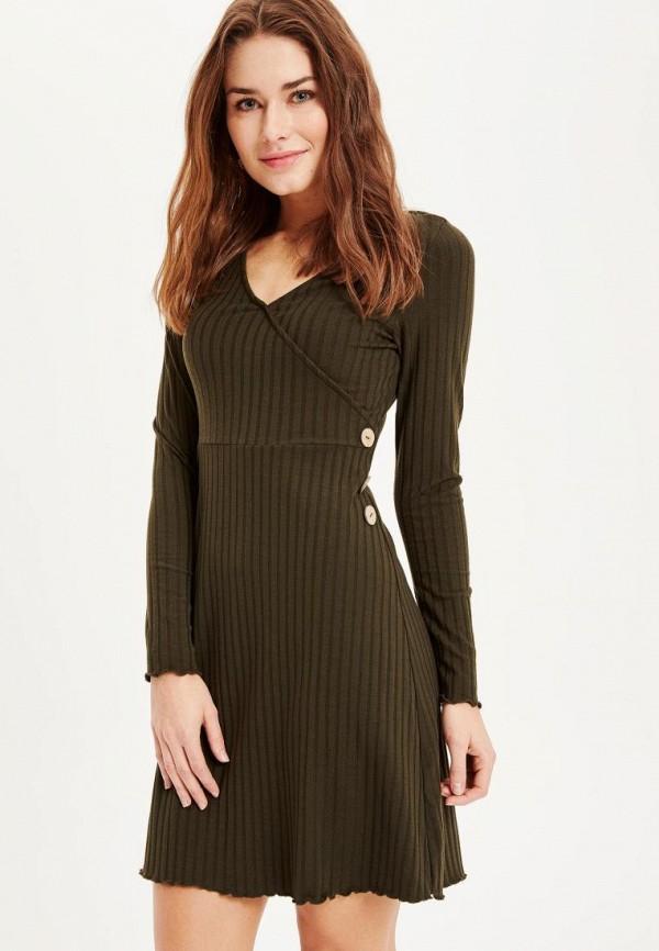 женское платье defacto, черное