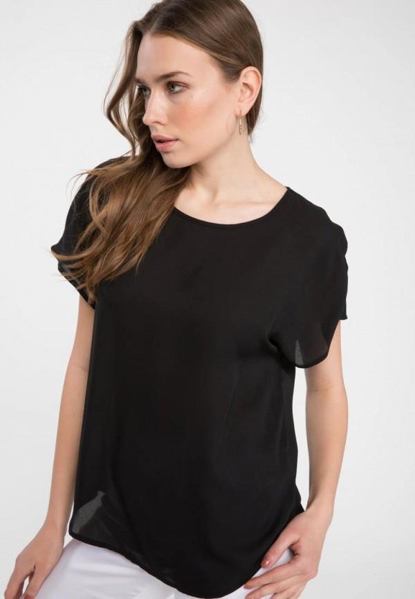женская футболка defacto, черная