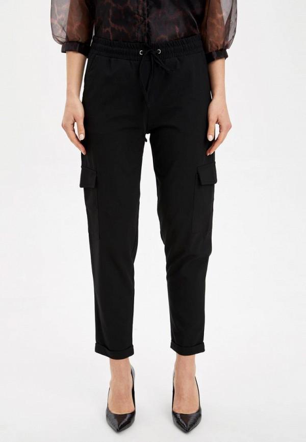 женские брюки defacto, черные