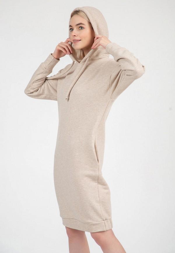 женское платье-толстовки olivegrey, бежевое