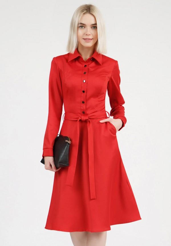 женское платье-рубашки olivegrey, красное