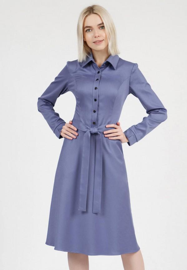 женское платье-рубашки olivegrey, синее