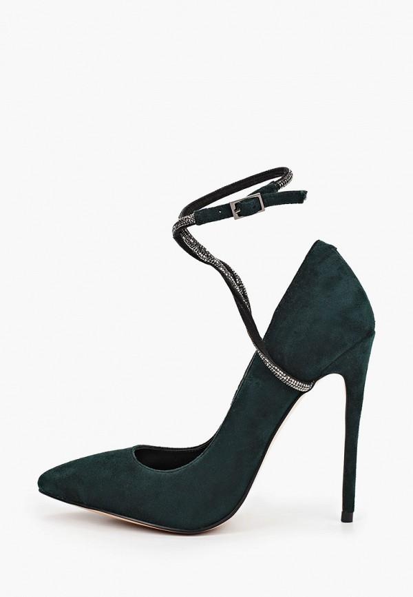 женские туфли calipso, зеленые