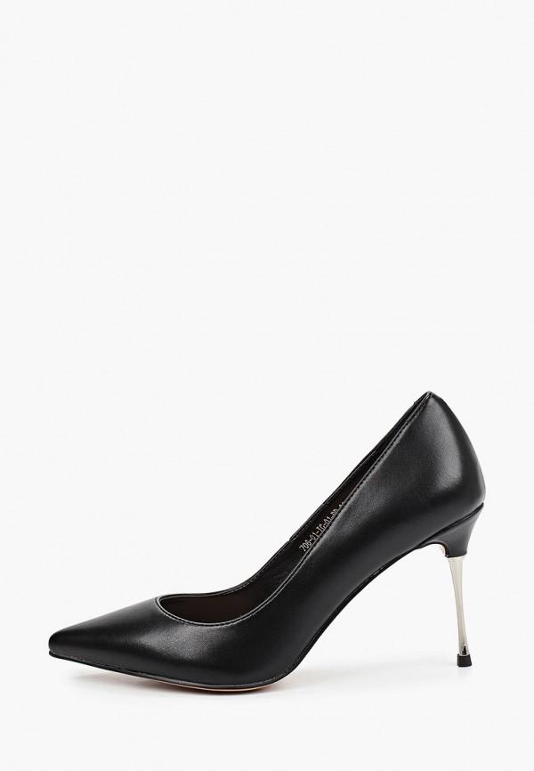 женские туфли-лодочки calipso, черные
