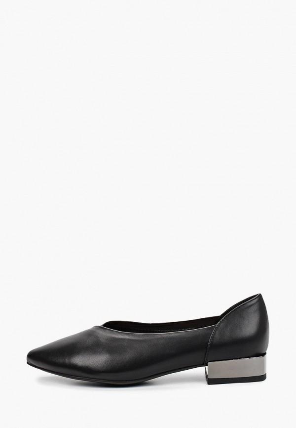 женские туфли с закрытым носом calipso, черные