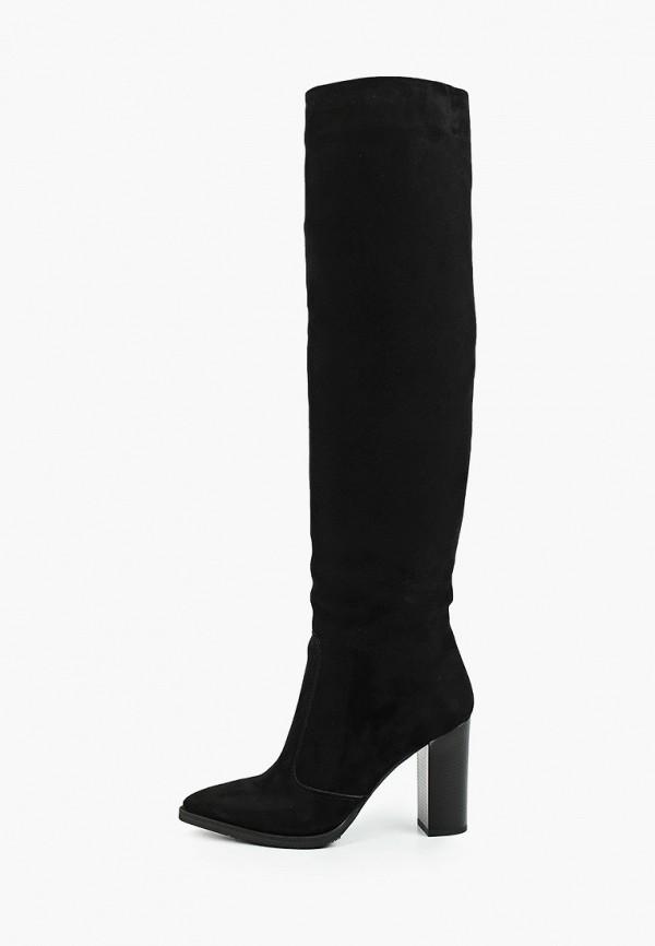 женские ботфорты gresco, черные