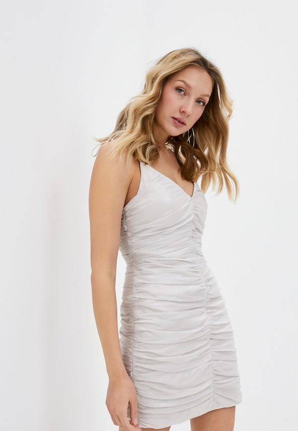 женское вечерние платье lime, белое