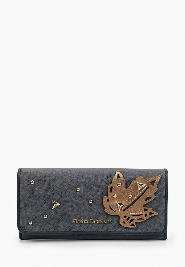 женский кошелёк fiato, серый