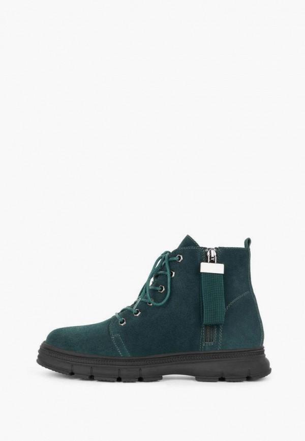 женские высокие ботинки alessio nesca, зеленые
