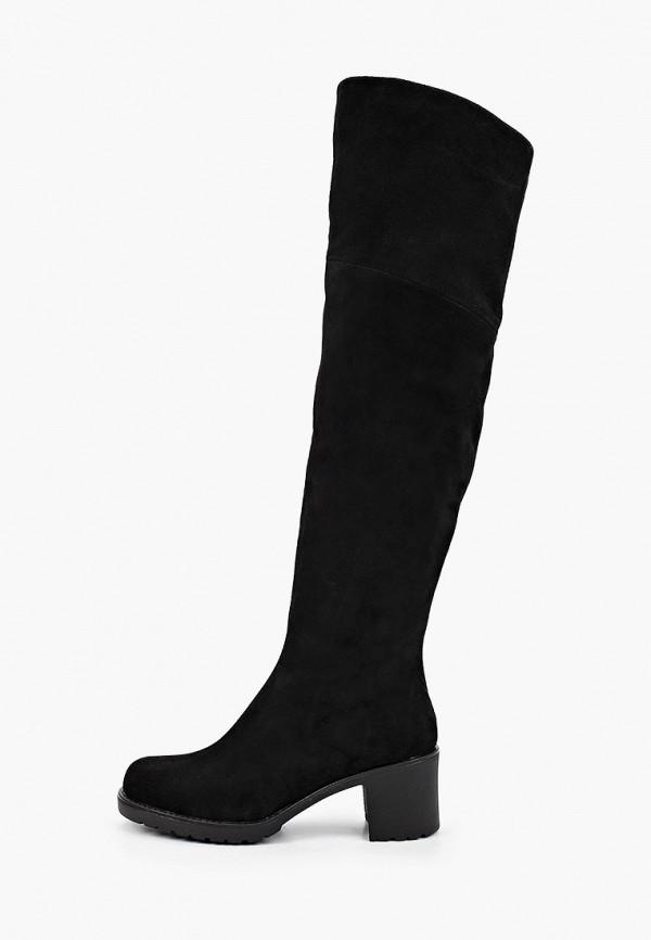 женские ботфорты helena berger, черные