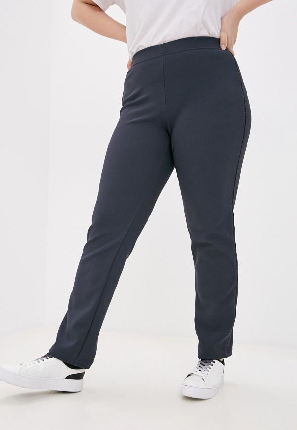 женские брюки джоггеры olsi, серые