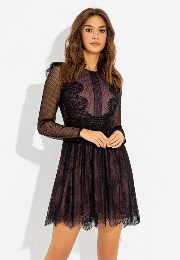 женское вечерние платье itelle, черное