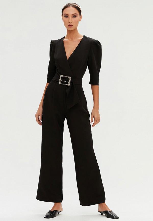 женский комбинезон с брюками love republic, черный