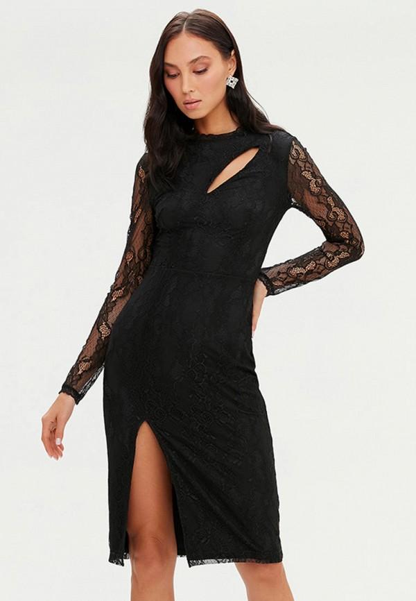 женское вечерние платье love republic, черное