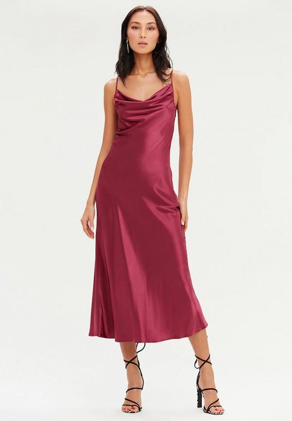 женское платье-комбинация love republic, красное